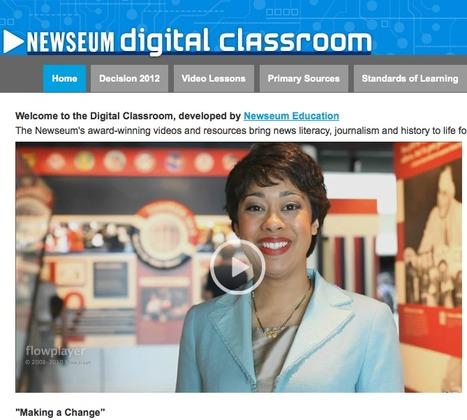 Newseum Digital Classroom | Digital Classroom | Educational Technology | Scoop.it