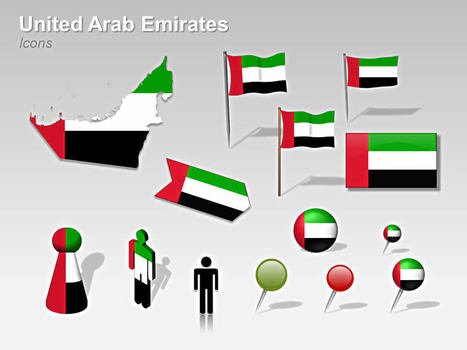 United arab emirates uae map powerpoint t united arab emirates uae map powerpoint template powerpoint presentation tools and resources toneelgroepblik Choice Image
