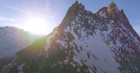 This unbelievable footage of the Swiss Alps is not CGI | STEM Connections | Scoop.it
