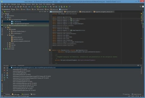 Create an Android Studio Project | Front End Development | Scoop.it