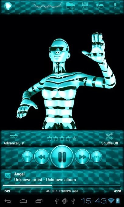 Poweramp Skin TURQUOISE BRUSH v1.2 | ApkLife-Android Apps Games Themes | Android Applications And Games | Scoop.it