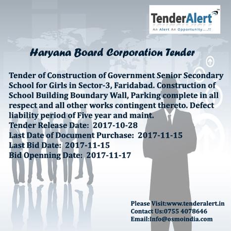 Building Tenders' in Tender Information | Scoop it