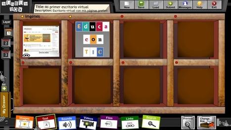 Organiza tu escritorio virtual con Museum Box   Nuevas tecnologías aplicadas a la educación   Educa con TIC   Nesrin   Scoop.it