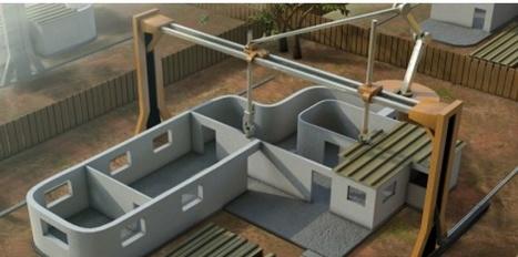 L'impression 3D s'attaque... aux bâtiments ! | Fab Lab à l'université | Scoop.it