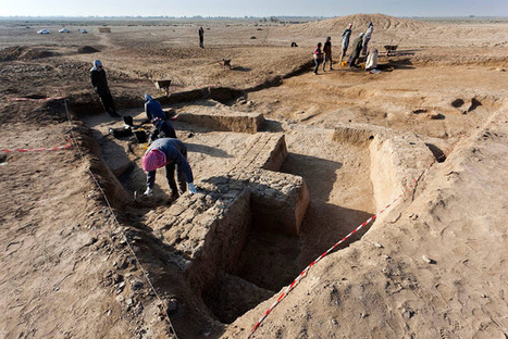 Buildings and Temple dated to 3,000 BC unearthed at Tel Zurghul in Iraq | The Archaeology News Network | Centro de Estudios Artísticos Elba | Scoop.it