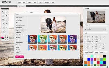An Impressive Web-based App for Photos Editing | Resources & Cool Tools | Scoop.it