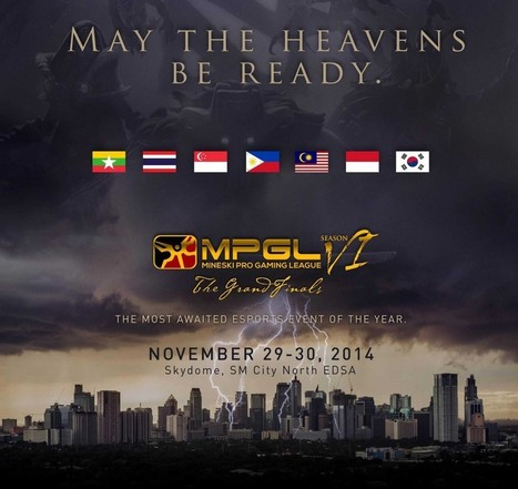 Mineski Pro-Gaming League South-East Asian Grand Finals   TechConnectPH News   Scoop.it