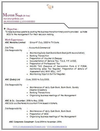 resume objective for b com work objective objective in resume for company nurse objective in - Resume Sample For Fresh Graduate Free Download