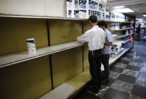 Venezuela is running out of toilet paper   Strange days indeed...   Scoop.it