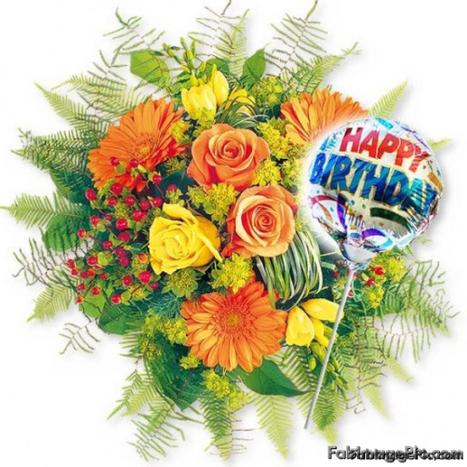 happy birthday flowers images free download for, Beautiful flower