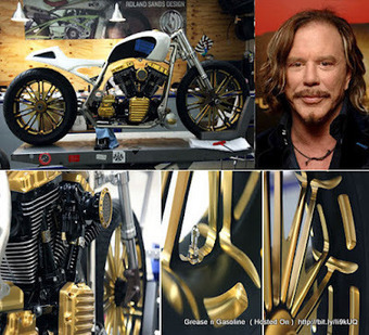 Mickey Rourke - Custom Motorcycle ~ Grease n Gasoline | Motorcycling | Scoop.it
