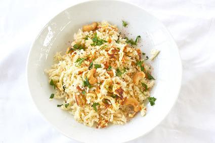 Coconut Cashew Rice   Food for Foodies   Scoop.it