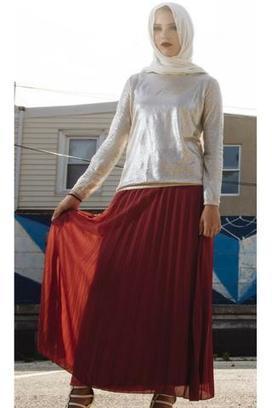 409d78a661ea Maxi Skirts | Modest Long Skirts | B Zarina Islamic Clothing | Scoop.it