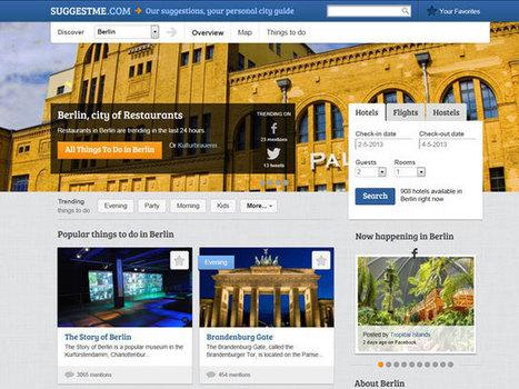 Nouveau site web - SuggestMe, un guide touristique né des réseaux sociaux | Tourisme numérique | Scoop.it
