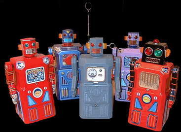 collectible toy robots and space toys   Vintage, Robots, Photos, Pub, Années 50   Scoop.it