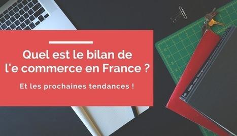 Infographie bilan du marché du e commerce en France - RG Design Blog Communication Digitale & Web Marketing | Internet world | Scoop.it
