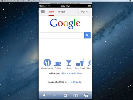 Run the iOS Simulator in your Web Browser | Tech in Education | Scoop.it