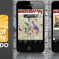Banksy-Locations for iPhone Shows You Where Banksy Art Is So You Can Pretend to Be Cultured   Appertunity's fun & creative iphone news   Scoop.it