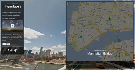 Google Street View Hyperlapse | Locative Media | Scoop.it