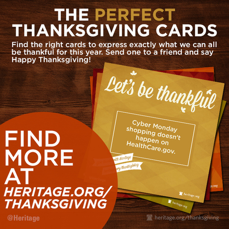 Obamacare | What EVERYONE Will Be Talking About at Thanksgiving Dinner | Restore America | Scoop.it