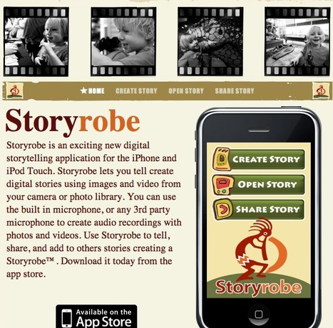 Story Robe - a StoryTelling App | Scriveners' Trappings | Scoop.it