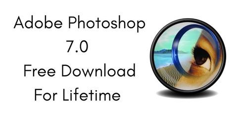 free photoshop 7.0 download