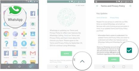 Comment ne pas partager les données de WhatsApp avec Facebook | JP revues | Scoop.it