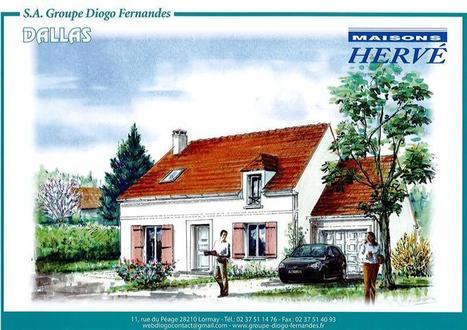 Maison 5 pièces Dallas 2 à Tacoignières (78910)... | Maison individuelle | Scoop.it