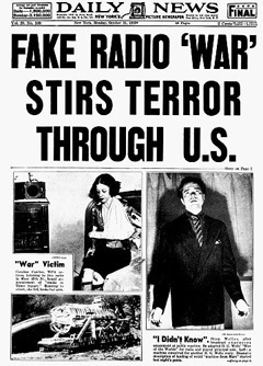 A Gullible Nation? War of the Worlds Revisited | A Cultural History of Advertising | Scoop.it