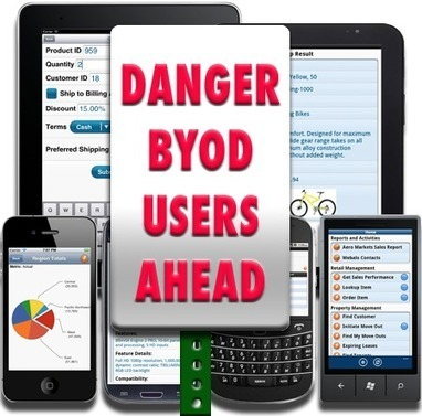 Bring Your Own Device #BYOD - 5 Lessons for Success | My Blog | Scoop.it
