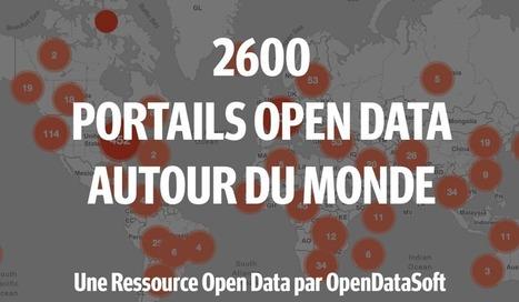 La Liste des 2600 Portails Open Data à Travers le Monde | Libre de faire, Faire Libre | Scoop.it