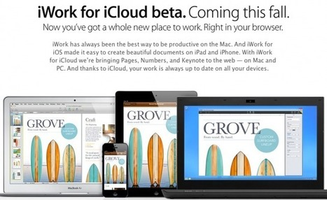 Apple Launches iWork For iCloud To Everyone -- AppAdvice | Learning with Mobile Devices | Scoop.it