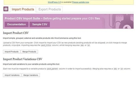 Woocommerce Product CSV Import Suite | Download Free Nulled Scripts | Woocommerce | Scoop.it