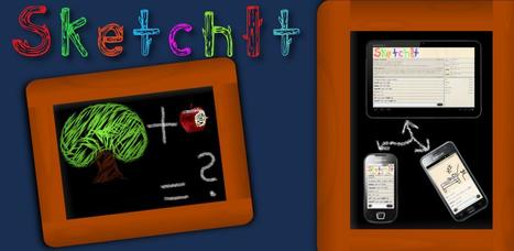 SketchIt HD (online) - AndroidMarket | Android Apps | Scoop.it