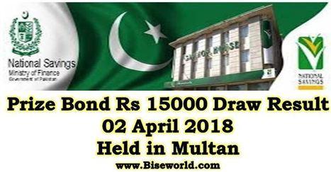 Prize Bond List 15000 - Draw # 74 Result April