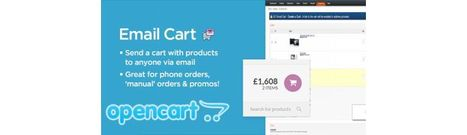 Extensions - Email Cart - send a cart with products to anyone via email | opencart | Scoop.it