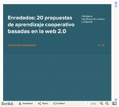 Educación tecnológica: 20 propuestas de aprendizaje colaborativo con la web 2.0 | TIC-TAC-EDU | Scoop.it