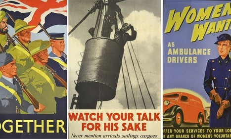'Watch your talk for his sake': Immaculate collection of World War Two posters found in chest of drawers | British Genealogy | Scoop.it