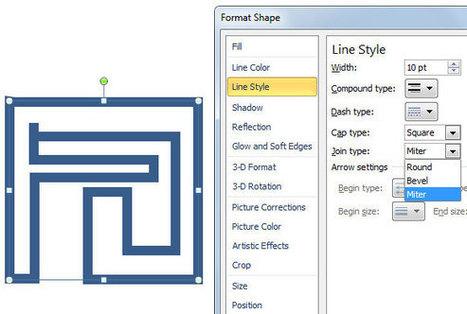 Crear Plantilla de Laberinto en PowerPoint usando Formas | Plantillas Power Point | Presentaciones PowerPoint | Scoop.it