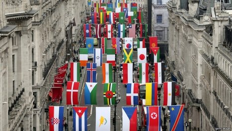 Countries Participating in the 2012 Olympic Games inLondon | Geography Education | Scoop.it