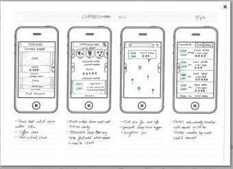 good designbad design phone app wireframe phmtierney web
