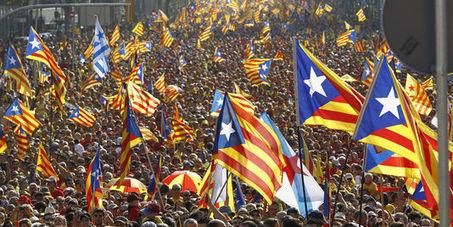 A Barcelone, les indépendantistes annoncent 1,8 million de manifestants ' Histoire de la Fin de la Croissance ' Scoop.it