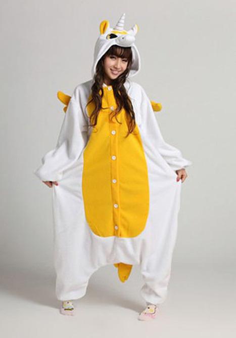 Adult onesies Golden Unicorn Kigurumi animal onesies | my like | Scoop.it