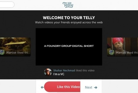 Telly Launches Its New Service On Video Discovery Based On User's Social Graph | All about Web | Scoop.it