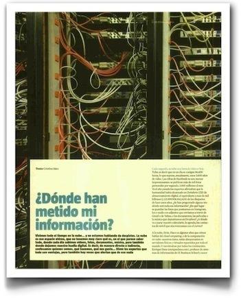 """""""¿Dónde han metido mi información?"""", en La Vanguardia   Educación a Distancia y TIC   Scoop.it"""