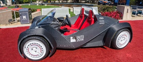 Conheça o Strati, o carro impresso em 3D   TecnoInter - Brasil   Scoop.it