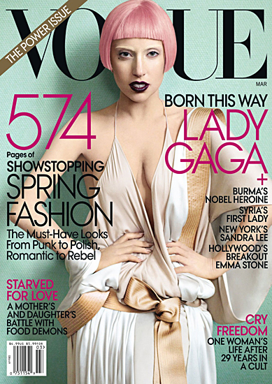 MTV Style | Lady Gaga Confirmed For September 'Vogue' Cover –MTV Style | GAGA | Scoop.it