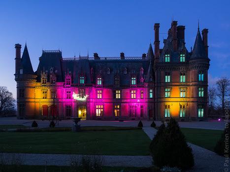 Noël à Trévarez : le château (14 photos) | photo en Bretagne - Finistère | Scoop.it