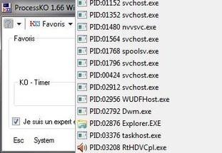 ProcessKO - Tuer les processus des logiciels rapidement sous Windows | On dit quoi ? | Scoop.it
