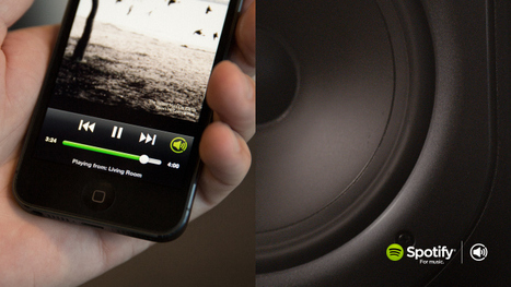 Spotify Makes Its Biggest Hardware Play Yet With Spotify Connect, Syncing Music At Home And Beyond | Music business | Scoop.it